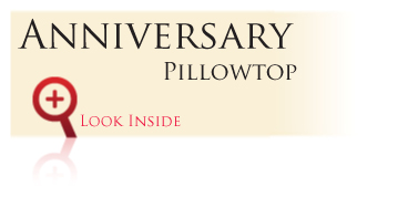 Look inside the Gold Bond Anniversary Series Anniversary Pillowtop