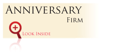 Look inside the Gold Bond Anniversary Series Anniversary Firm