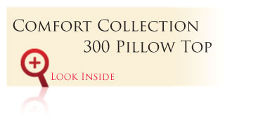 Look inside the Gold Comfort Collection 300 Pillow Top