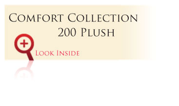 Look inside the Gold Comfort Collection 200 Plush