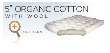Gold Bond Organic Futon Mattresses